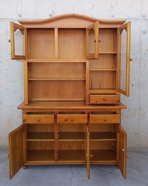 Bufet de fusta de pi de 150cm d'ocasió a cabauoportunitats.com