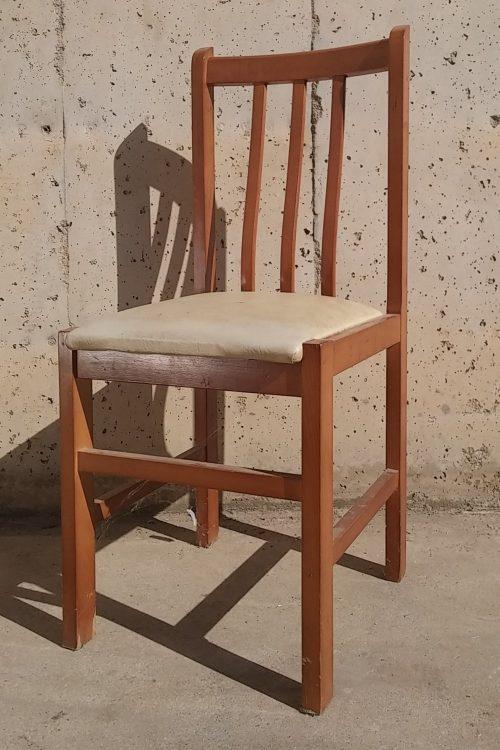 Lot de 2 cadires menjador 40x40x90cm d'ocasió a cabauoportunitats.com