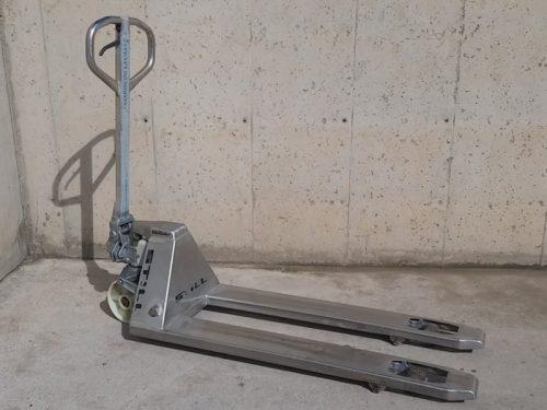 Transpalet d'inox STILL 1500kg d'ocasió a cabauoportunitats.com