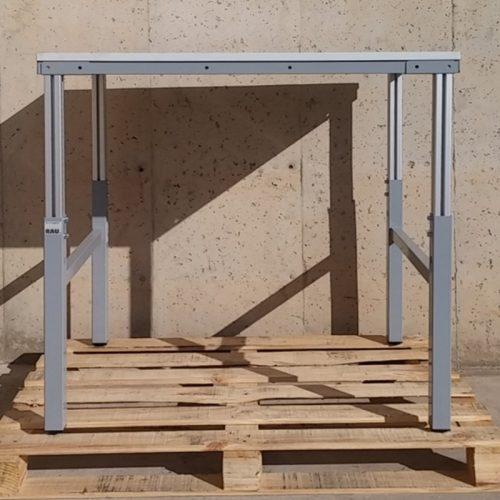 Taula modular per a taller amb tara estètica d'ocasió a cabauoportunitats.com - Balaguer