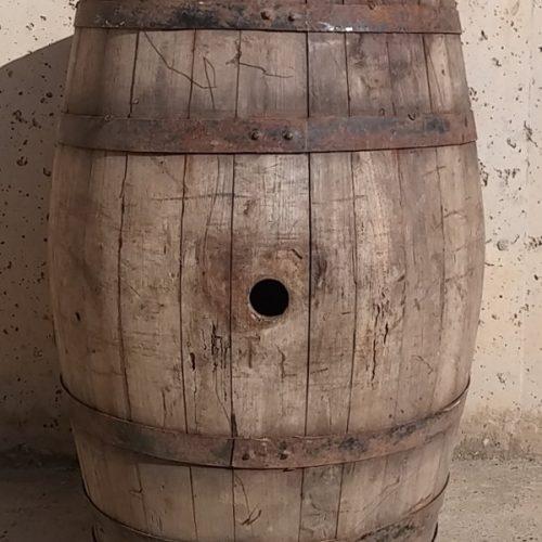 Bóta de vi antiga ø45cm d'ocasió a cabauoportunitats.com Balaguer - Lleida - Catalunya