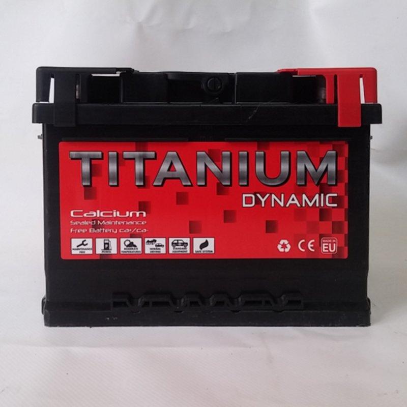 Batería 60 Amperios TITANIUM DYNAMIC nueva en cabauoportunitats.com