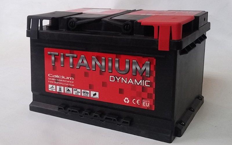 Batería 70 Amperios TITANIUM DYNAMIC nueva en cabauoportunitats.com