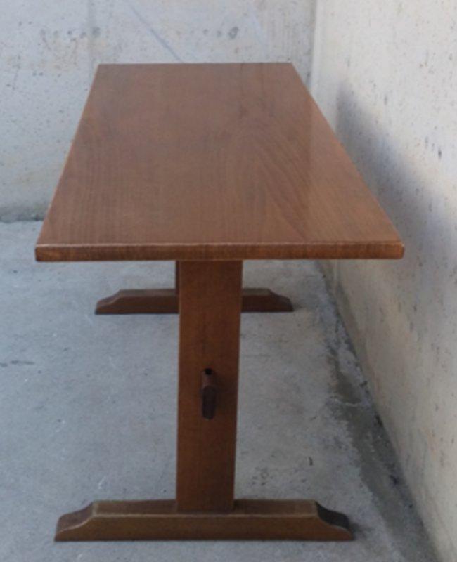 Mesa r stica de madera 150cm cabau oportunitats - Mesa madera rustica ...