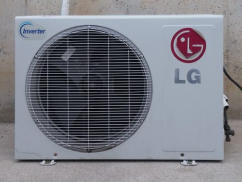 Aire condicionat inverter LG 3000kcal/h d'ocasió a cabauoportunitats.com Balaguer - Lleida - Catalunya