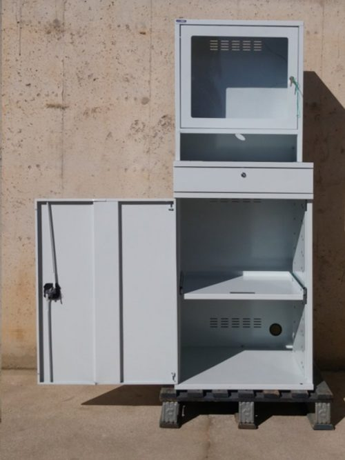 Armari metàl·lic per a ordinador d'ocasió a cabauoportunitats.com Balaguer - Lleida - Catalunya