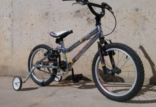Bicicleta intantil MONTY d'ocasió a cabauoportunitats.com Balaguer - Lleida - Catalunya