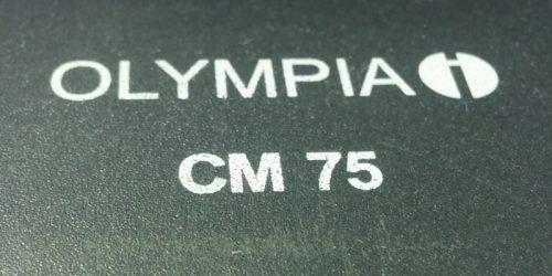 Caixa registradora OLIMPIA CM 75 d'ocasió a cabauoportunitats.com Balaguer - Lleida - Catalunya