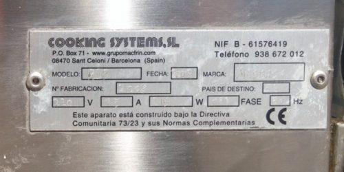 Nevera ampolles d'inox 150cm 2 portes a cabauoportunitats.com Balaguer - Lleida - Catalunya