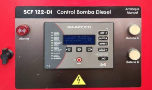Equipo contraincendios BOMBAS SACI de ocasión en cabauoportunitats.com