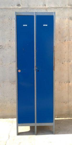 Mòdul 2 taquilles 63x50x195cm de segona mà a cabauopotunitats.com Balaguer - Lleida - Catalunya