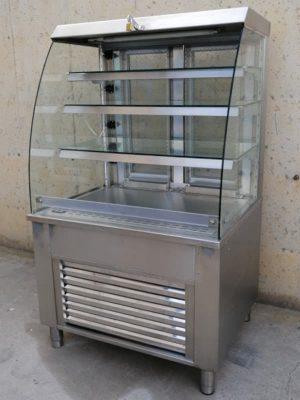 Expositor refrigerat autoservei 90x75cm de segona mà a cabauoportunitats.com. Balaguer - Lleida - Catalunya.