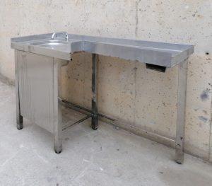 Pica amb potes d'acer inoxidable de segona mà a cabauoportunitats.com Balaguer - Lleida - Catalunya
