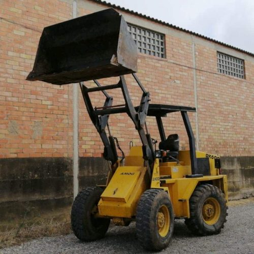 Pala carregadora AMOG DK 600 de segona mà a cabauoportunitats.com Balaguer - Lleida - Catalunya