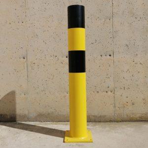 Balisa de tub d'acer amb revestiment plàstic ø16cm nova en venda a cabauoportunitats.com Balaguer - Lleida - Catalunya