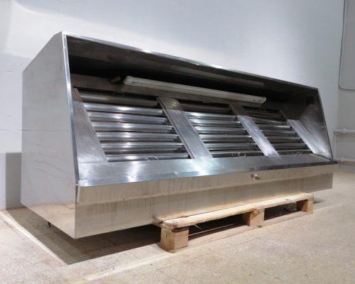 Campana extractora d'acer inoxidable per a hostaleria d'oferta en venda a cabauoportunitats.com Balaguer - Lleida - Catalunya