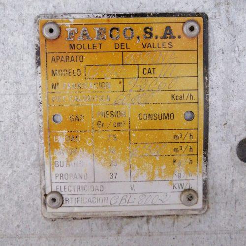 Cuina de gas MAS BAGÀ amb 4 planxes 2 fogons i 2 forns en venda a cabauoportunitats.com Balaguer - Lleida - Catalunya