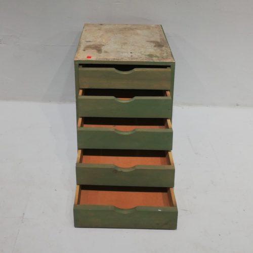Caixera de fusta de 5 calaixos d'oferta en venda a cabauoportunitats.com Balaguer - Lleida - Catalunya